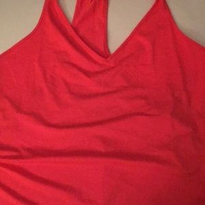 Women's under armour v neck racerback workout top